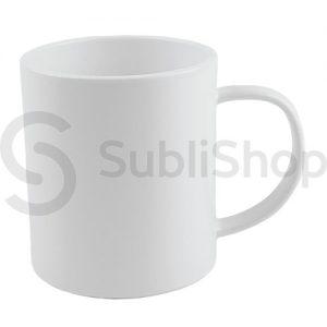 taza de plastico para sublimar