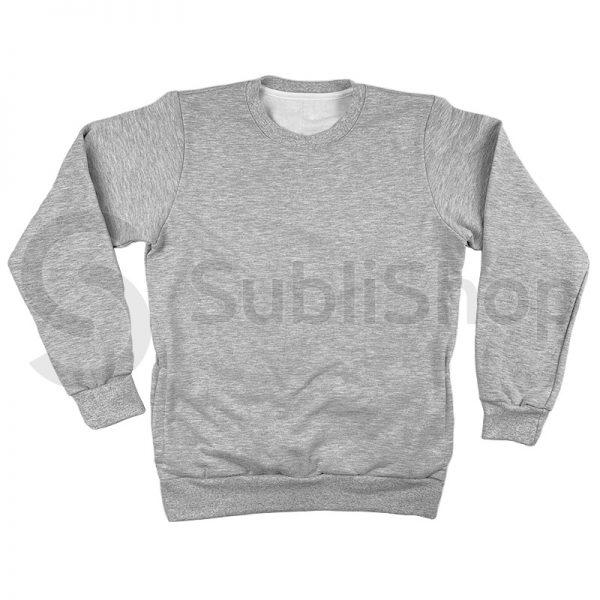 buzo gris para sublimar