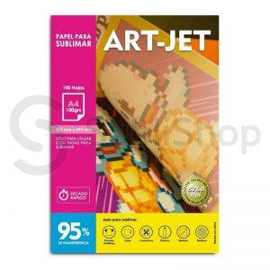papel para sublimar artjet a4