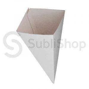cono de carton sublimable