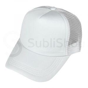 gorra trucker blanca para sublimar